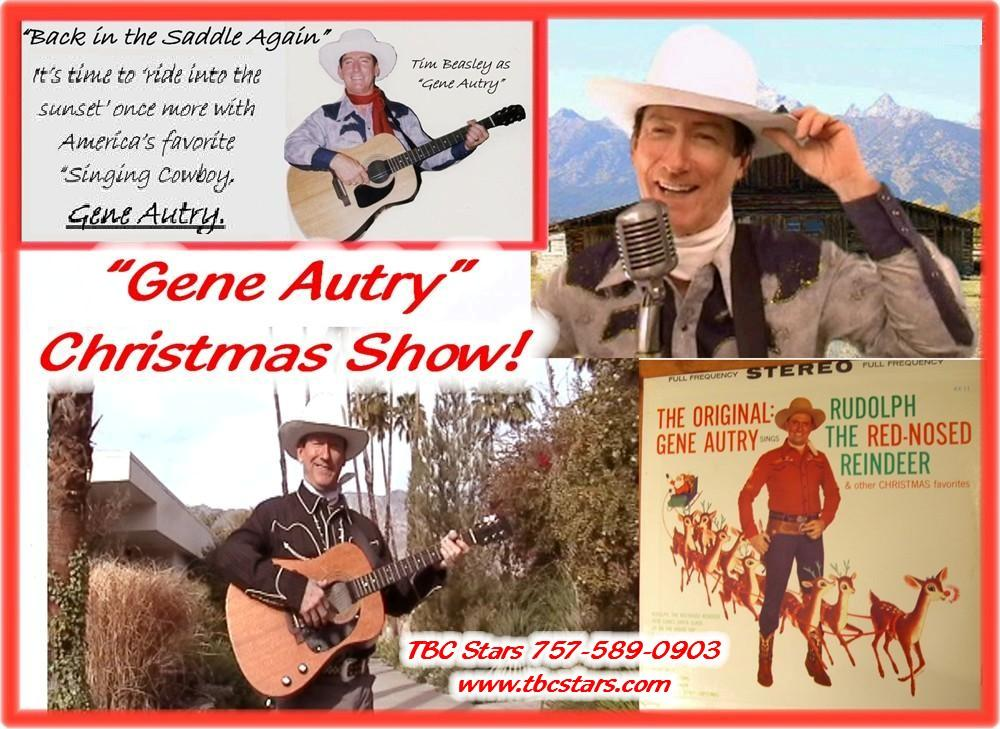 Vegas Tributes | Gene Autry Impersonator