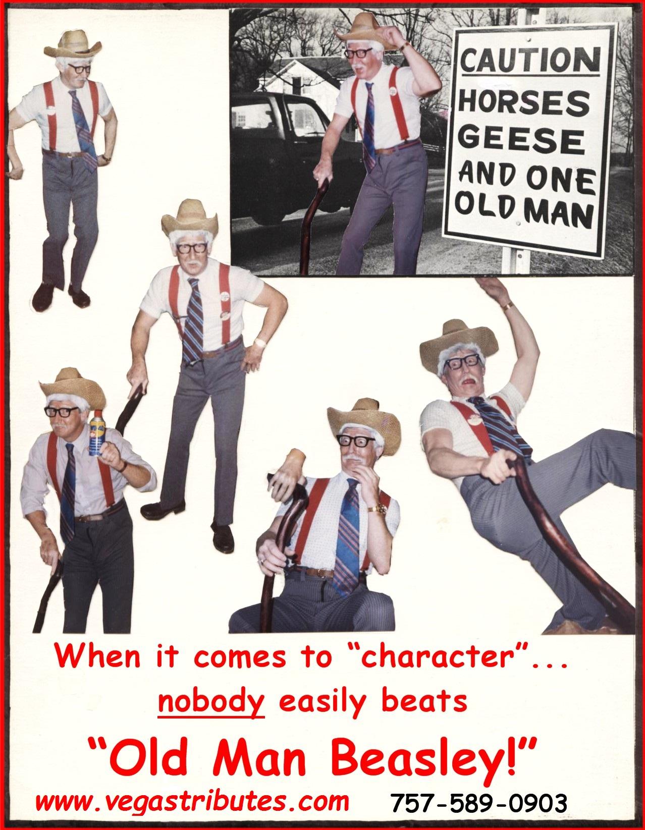 Vegas Tributes | Old Man Beasley
