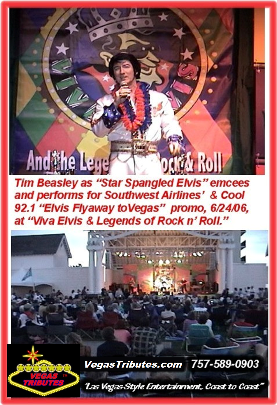 STAR SPANGLED ELVIS EMCEES ELVIS FEST