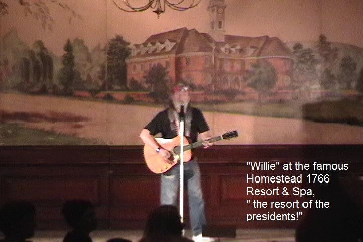 Vegas Tributes Willie Nelson Impersonator